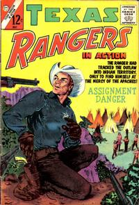 Cover Thumbnail for Texas Rangers in Action (Charlton, 1956 series) #39