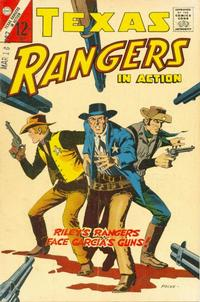Cover Thumbnail for Texas Rangers in Action (Charlton, 1956 series) #61