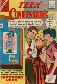 Cover Thumbnail for Teen Confessions (Charlton, 1959 series) #22