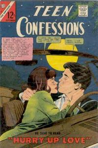 Cover Thumbnail for Teen Confessions (Charlton, 1959 series) #40