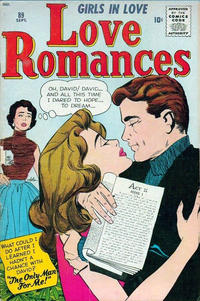 Cover Thumbnail for Love Romances (Marvel, 1949 series) #89