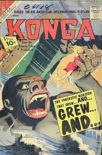 Cover for Konga (1960 series) #2