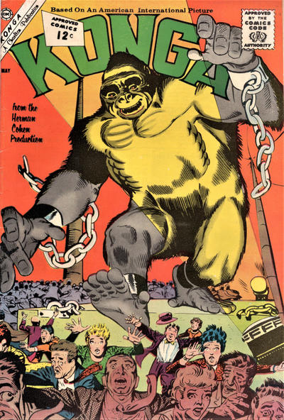 Cover for Konga (Charlton, 1960 series) #6
