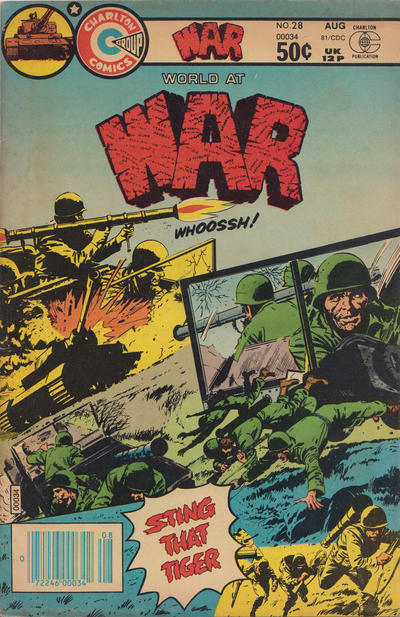 Cover for War (Charlton, 1975 series) #28