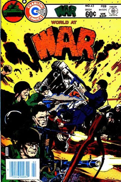 Cover for War (Charlton, 1975 series) #43