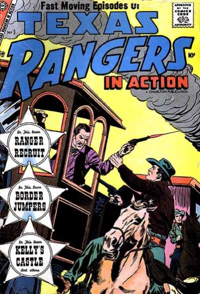 Cover for Texas Rangers in Action (Charlton, 1956 series) #9