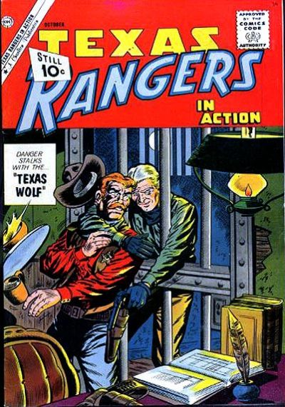 Cover for Texas Rangers in Action (1956 series) #30