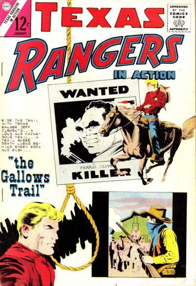 Cover for Texas Rangers in Action (Charlton, 1956 series) #43