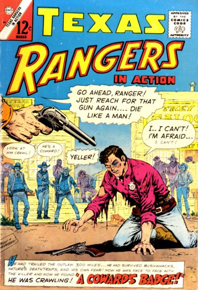 Cover for Texas Rangers in Action (1956 series) #54