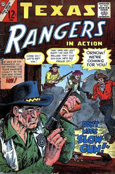 Cover for Texas Rangers in Action (Charlton, 1956 series) #55