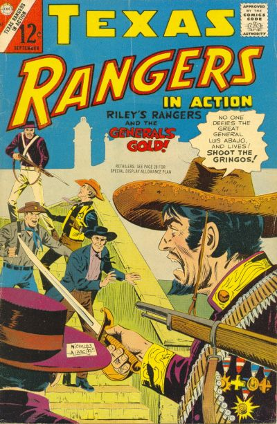 Cover for Texas Rangers in Action (Charlton, 1956 series) #62