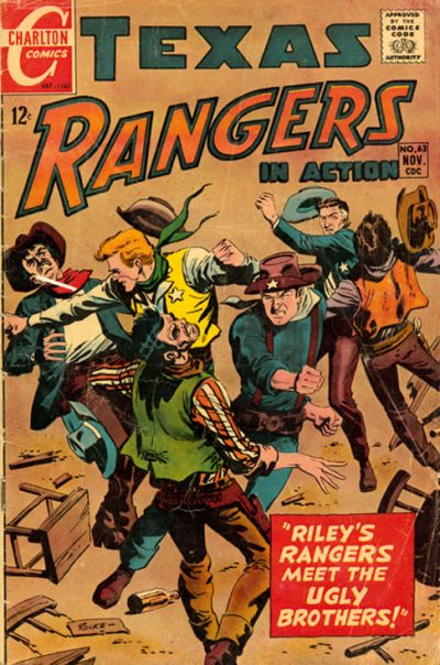 Cover for Texas Rangers in Action (Charlton, 1956 series) #63