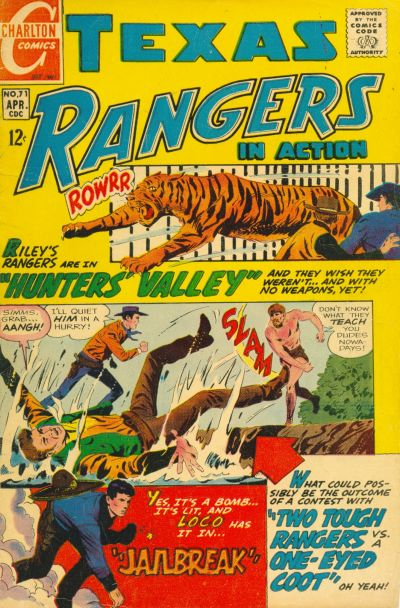 Cover for Texas Rangers in Action (1956 series) #71