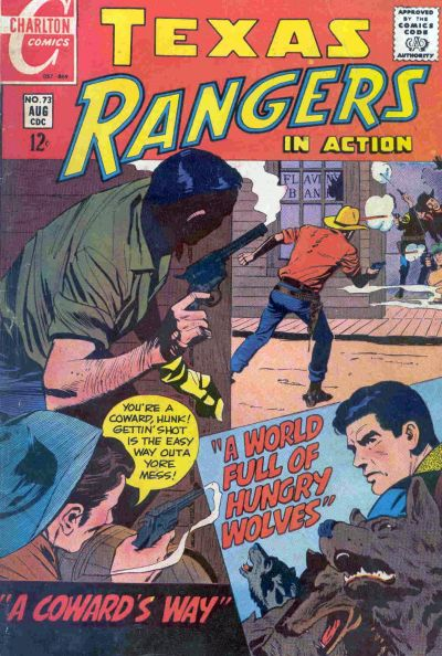 Cover for Texas Rangers in Action (Charlton, 1956 series) #73
