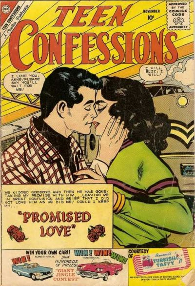Cover for Teen Confessions (1959 series) #8