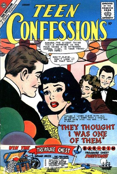 Cover for Teen Confessions (Charlton, 1959 series) #9