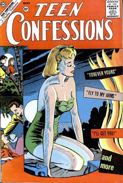 Cover for Teen Confessions (Charlton, 1959 series) #10
