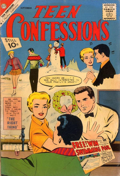 Cover for Teen Confessions (1959 series) #13