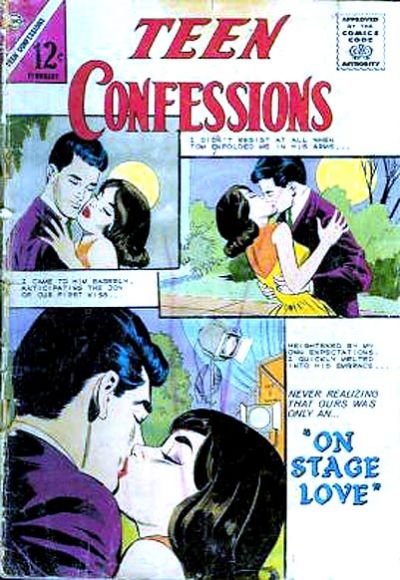 Cover for Teen Confessions (Charlton, 1959 series) #27