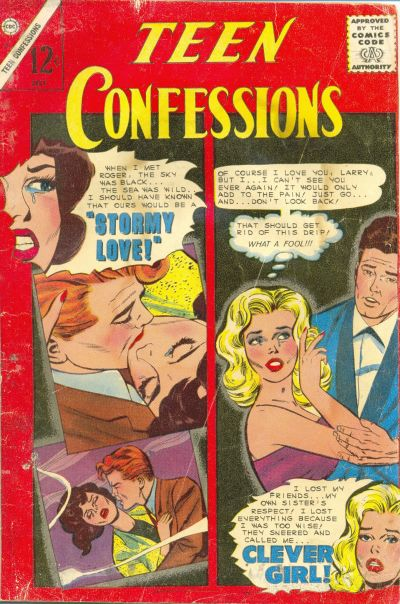 Cover for Teen Confessions (1959 series) #34