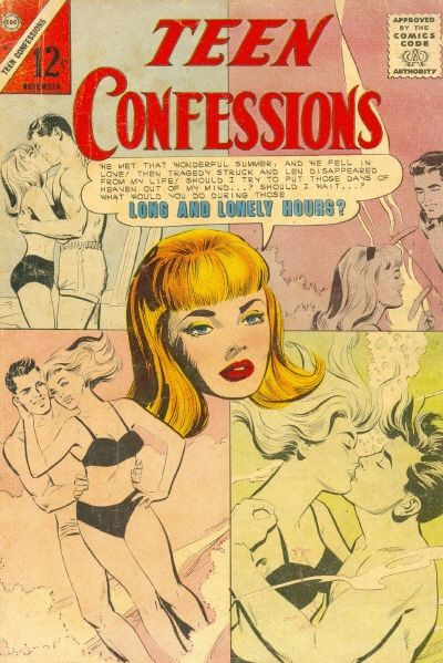Cover for Teen Confessions (Charlton, 1959 series) #36