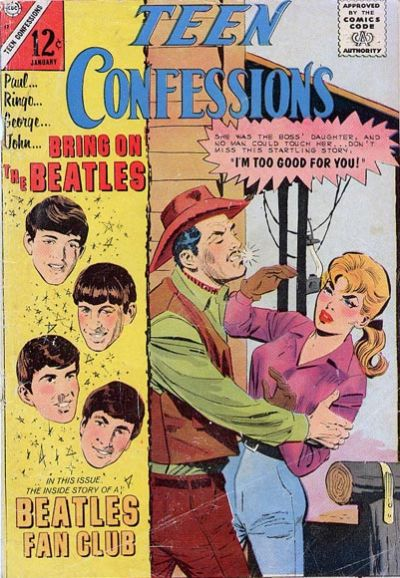 Cover for Teen Confessions (Charlton, 1959 series) #37