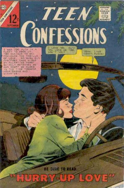 Cover for Teen Confessions (Charlton, 1959 series) #40