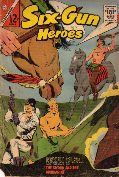 Cover for Six-Gun Heroes (1954 series) #73