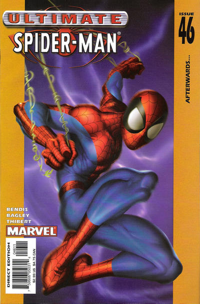 Cover for Ultimate Spider-Man (2000 series) #46