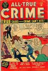 Cover for All True Crime (Marvel, 1949 series) #41