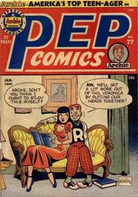 Cover for Pep Comics (1940 series) #77