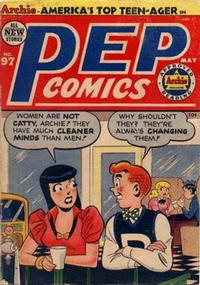 Cover Thumbnail for Pep Comics (Archie, 1940 series) #97