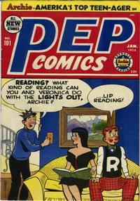 Cover Thumbnail for Pep Comics (Archie, 1940 series) #101