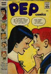 Cover Thumbnail for Pep Comics (Archie, 1940 series) #116