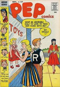 Cover for Pep Comics (1940 series) #117