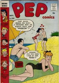 Cover for Pep Comics (Archie, 1940 series) #129