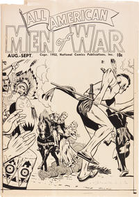 Cover Thumbnail for All-American Men of War [ashcan] (DC, 1952 series) #[nn]