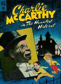 Cover Thumbnail for Four Color (Dell, 1942 series) #196 - Charlie McCarthy in The Haunted Hide-Out