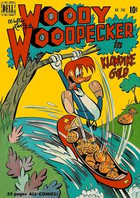 Cover Thumbnail for Four Color (Dell, 1942 series) #288 - Walter Lantz Woody Woodpecker in Klondike Gold