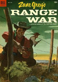 Cover Thumbnail for Four Color (Dell, 1942 series) #555 - Zane Grey's Range War (Hash Knife Outfit)