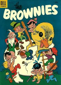 Cover Thumbnail for Four Color (Dell, 1942 series) #605 - The Brownies
