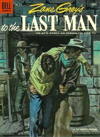 Cover Thumbnail for Four Color (Dell, 1942 series) #616 - Zane Grey's To the Last Man