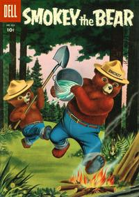 Cover Thumbnail for Four Color (Dell, 1942 series) #653 - Smokey the Bear