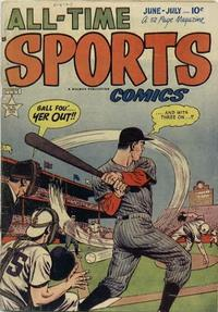 Cover Thumbnail for All-Time Sports Comics (Hillman, 1949 series) #v1#5