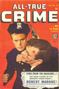 Cover Thumbnail for All True Crime (Marvel, 1949 series) #37
