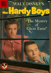 Cover Thumbnail for Four Color (Dell, 1942 series) #887 - Walt Disney's The Hardy Boys