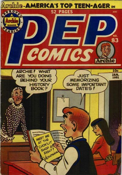 Cover for Pep Comics (Archie, 1940 series) #83
