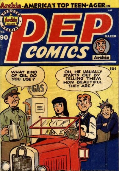 Cover for Pep Comics (Archie, 1940 series) #90