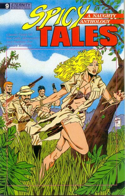 Cover for Spicy Tales (Malibu, 1988 series) #9