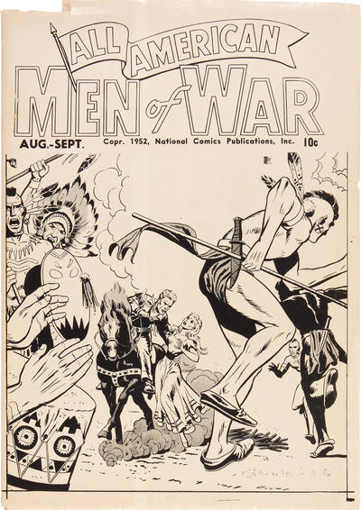 Cover for All-American Men of War [ashcan] (DC, 1952 series)